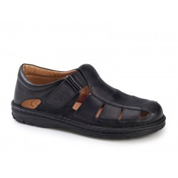 Ανδρικά Δερμάτινα Πέδιλα Παπουτσοπέδιλα Boxer shoes 17200 14-111