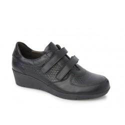 Γυναικεία Παπούτσια Boxer 52708 17-661 Μαύρα Σπορ Δερμάτινα