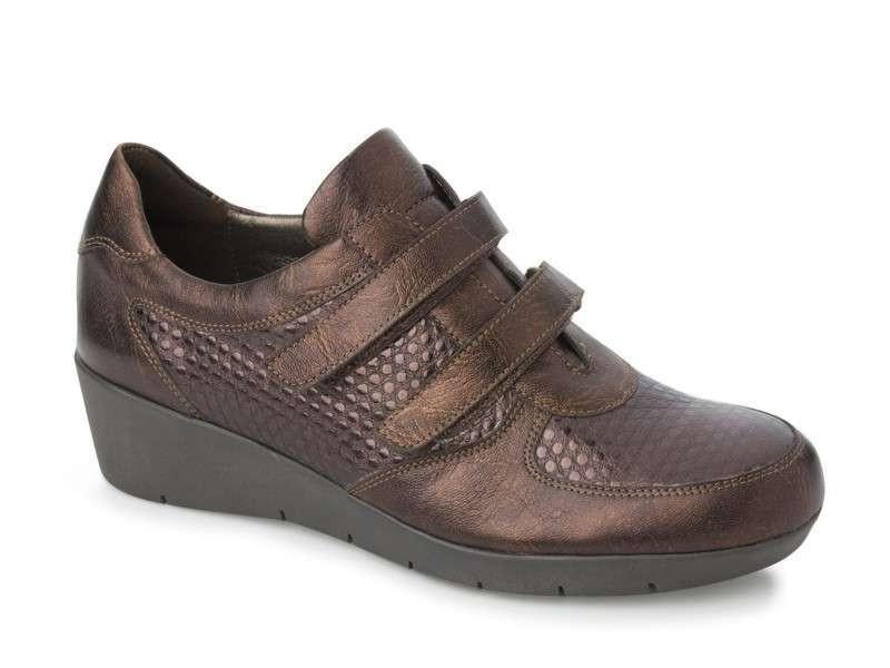 Γυναικεία Παπούτσια Boxer 52708 17-664 Καφέ Σπορ Δερμάτινα Υποδήματα