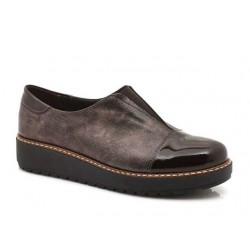 Γυναικεία Παπούτσια Boxer 52774 50-753 Ατσαλί Δερμάτινα Μοκασίνια