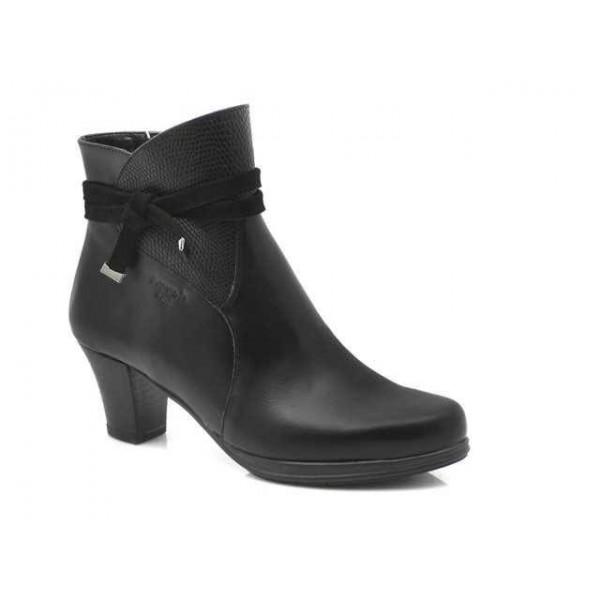 Γυναικεία Παπούτσια Boxer 58767 10-011 Μαύρα Δερμάτινα Μποτάκια