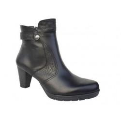 Δερμάτινα Παπούτσια Boxer 58768 10-011 Μαύρα Γυναικεία Μποτάκια