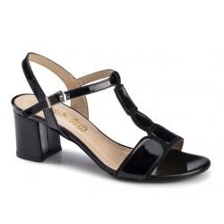 Γυναικεία Παπούτσια Boxer chic 59021 50-111 Λουστρίνια Δερμάτινα Πέδιλα