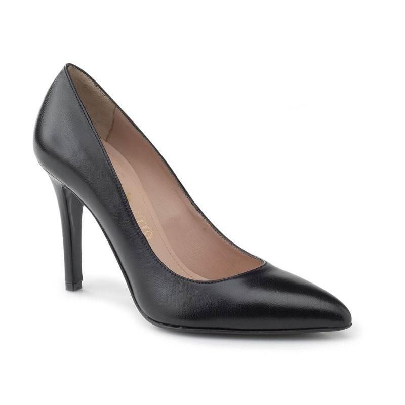 -22% Γυναικεία Παπούτσια Boxer 59031 17-011 Μαύρες Δερμάτινες Γόβες d05d1d253c8