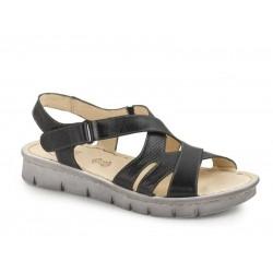 Δερμάτινα Παπούτσια Boxer 82580 17-011 Μαύρο Γυναικεία Πέδιλα