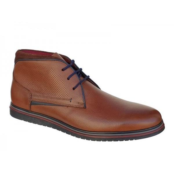 Ανδρικά Παπούτσια SOFTIES 6922 Ταμπά Casual Μποτάκια