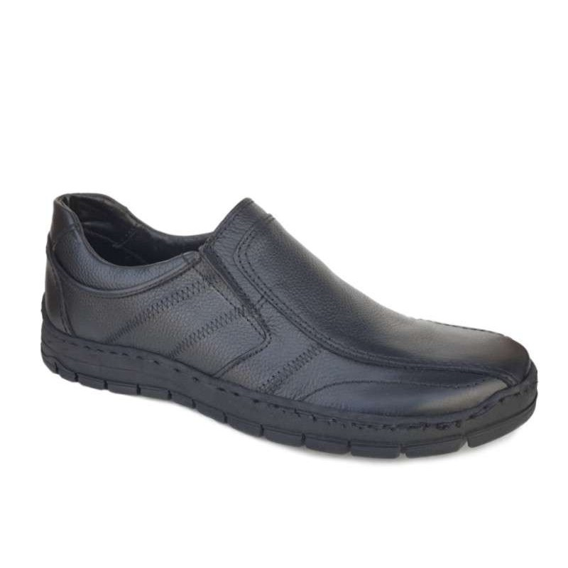 9d73ec076b4 -20% Ανδρικά Παπούτσια Cabrini 443 Μαύρα Casual Δερμάτινα Μοκασίνια