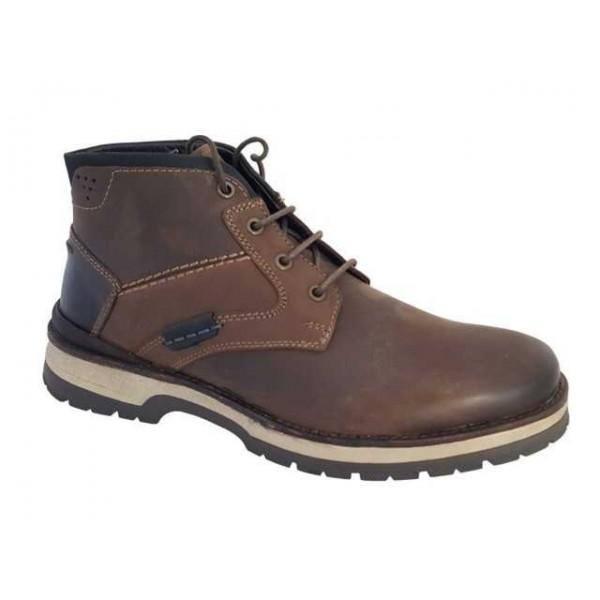 Ανδρικά Παπούτσια Canguro 164300 Spor Δερμάτινα Μποτάκια