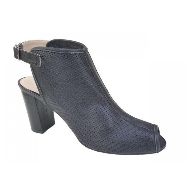 a8c25b3ed2b -50% Δερμάτινα παπούτσια SAV 7007 Μαύρα Γυναικεία Πέδιλα