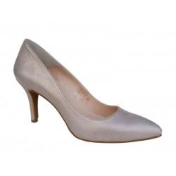 Δερμάτινα  παπούτσια SAV 795 Άμμου Γυναικείες Γόβες
