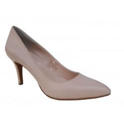 Δερμάτινα  παπούτσια SAV 795 Νude Γυναικείες Γόβες