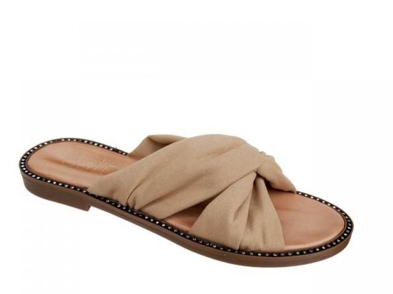 Γυναικεία Πέδιλα  - Καλοκαιρινές παντόφλες | ESTE 16134 Μπεζ