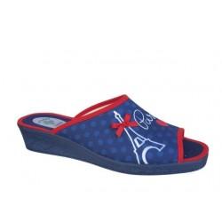 Kokis 83108 Μπλε Γυναικείες Παντόφλες