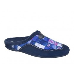 Kokis 11028 Μπλε Γυναικείες Παντόφλες