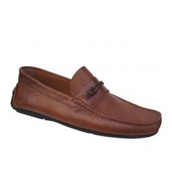 Ανδρικά Παπούτσια Kricket 543 | Δερμάτινα Ανατομικά Μοκασίνια