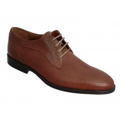 Ανδρικά Παπούτσια Kricket 6600 Κονιάκ Casual - Αμπιγέ | Δερμάτινα Σκαρπίνια