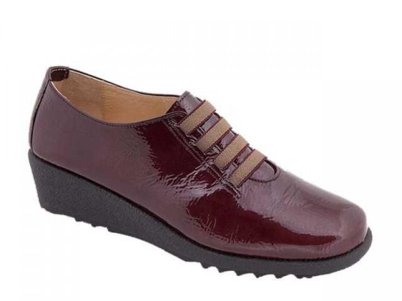 Γυναικεία Ανατομικά Παπούτσια | Relax anatomic 7302-03T Δέρμα λουστρίνι