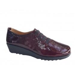 Γυναικεία Παπούτσια Relax anatomic 7302-03 Μπορντό Δέρμα λουστρίνι