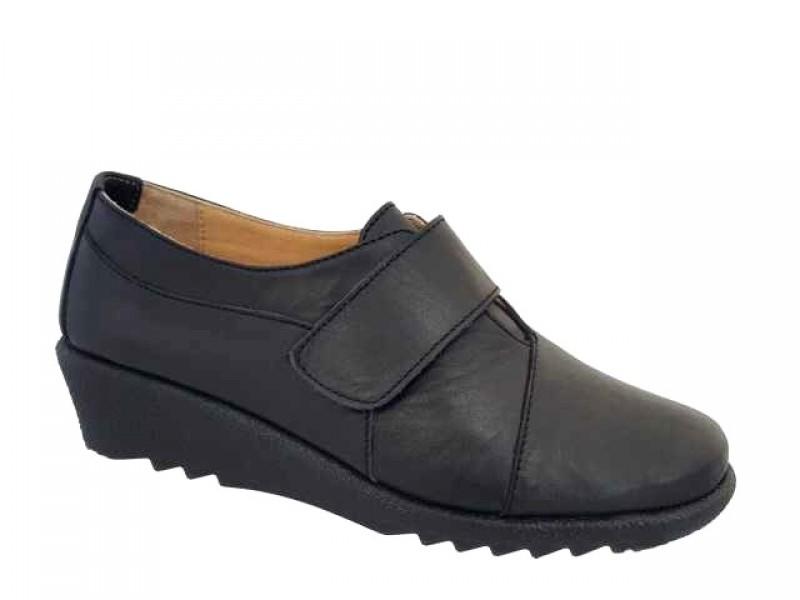 Δερμάτινα Relax anatomic 7310-01 Μαύρα Σπορ Γυναικεία Παπούτσια