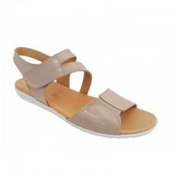 Δερμάτινα Παπούτσια Relax anatomic 10726-03 Sand Γυναικεία Πέδιλα 229d06506b0