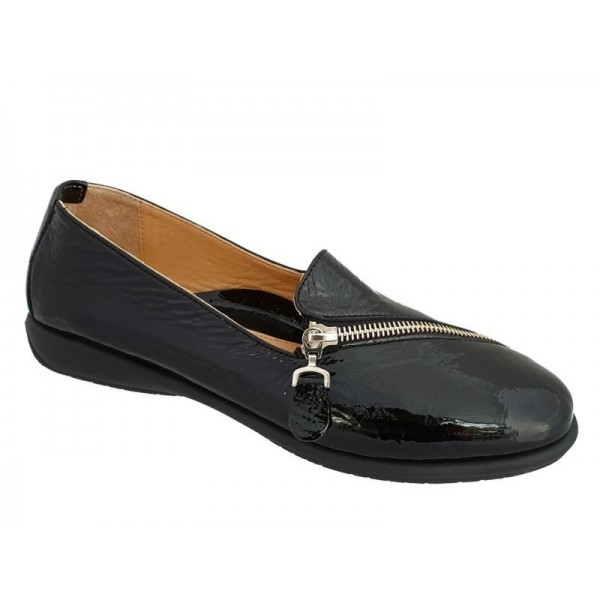 Γυναικεία Παπούτσια Relax anatomic 1230-03 Μαύρα Γυναικεία Μοκασίνια