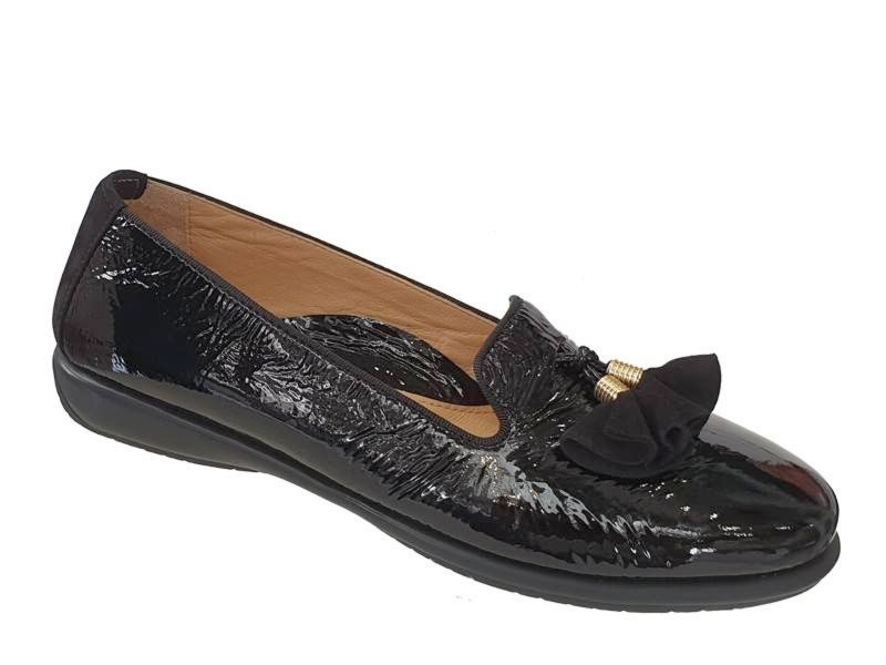 Δερμάτινα Παπούτσια Relax anatomic 1232-32 Μαύρα Γυναικεία Μοκασίνια