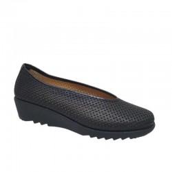 Δερμάτινα Παπούτσια Relax anatomic 7103-13 Μαύρα Γυναικεία Μοκασίνια