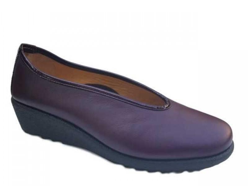 Γυναικεία Παπούτσια Relax anatomic 7105-13 Μπορντό Γυναικεία Μοκασίνια