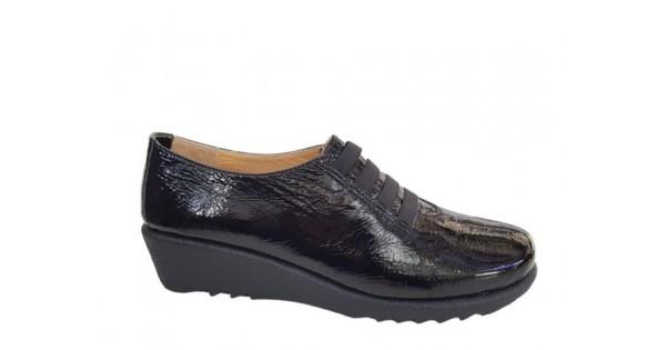 f77d2500be9 Relax anatomic 7302-03 Μαύρο Δέρμα λουστρίνι - Γυναικεία Παπούτσια
