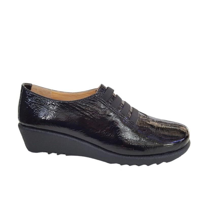 ababa55c055 -35% Γυναικεία Παπούτσια Relax anatomic 7302-03 Μαύρο Δέρμα λουστρίνι