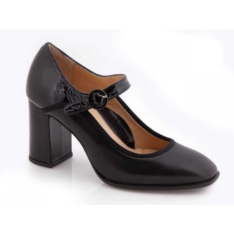 feccdd0db9 -35% Δερμάτινα Παπούτσια Relax anatomic 76103-17 Μαύρες Γυναικείες Γόβες