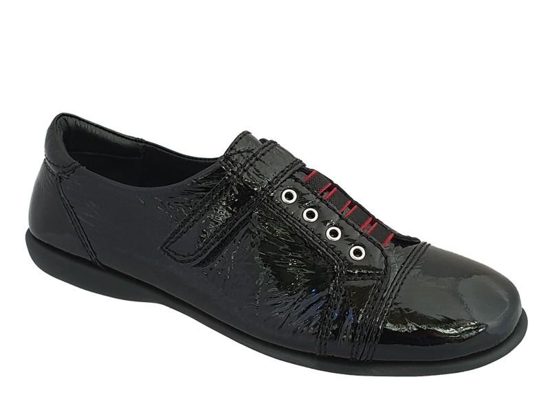 Δερμάτινα Παπούτσια Relax anatomic 8306-03 Μαύρα Γυναικεία Μοκασίνια