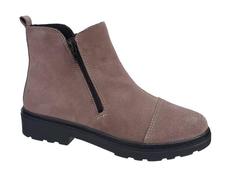 Δερμάτινα  Παπούτσια INBLU HE13C143 Μπεζ Γυναικεία Μποτάκια
