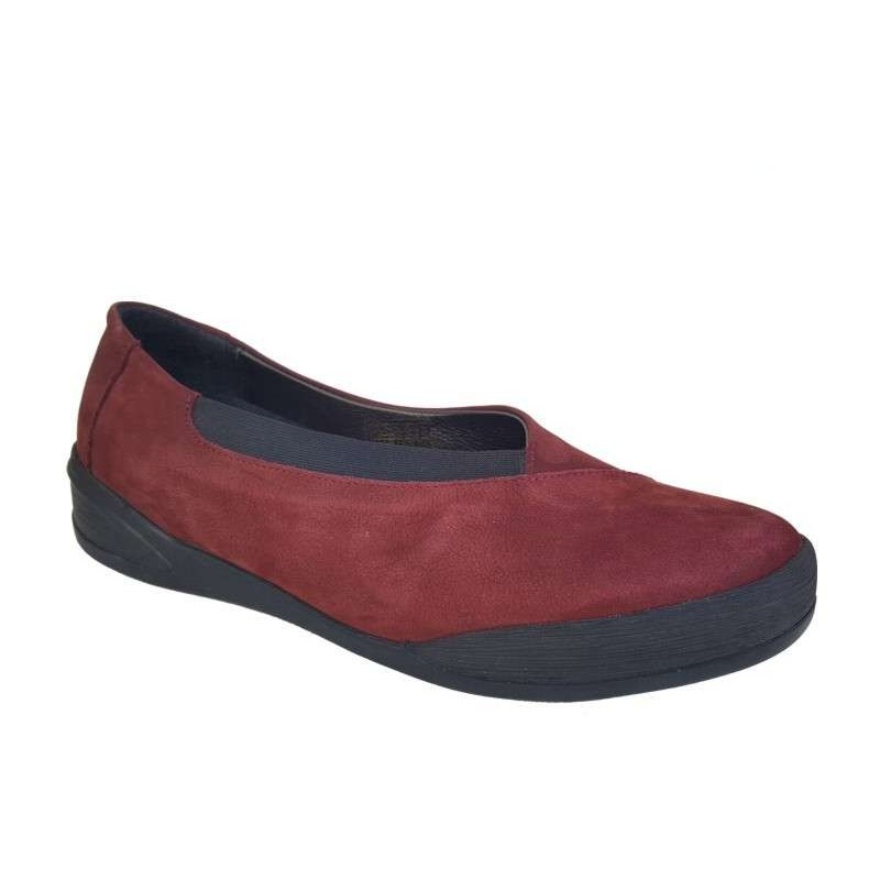 923525d8afb SAFE STEP 72106 Μπορντό Γυναικεία Loafers - papoutsomania.gr