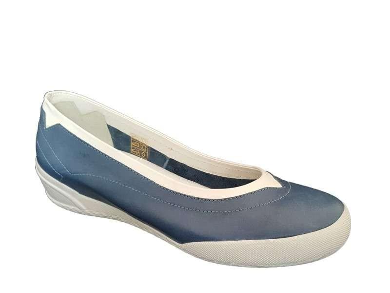 945452fd6ee SAFE STEP 70106 Μπλε Γυναικεία Μοκασίνια