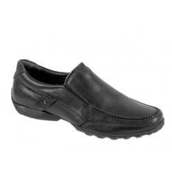 Ανδρικά Παπούτσια SOFTIES 6862 6925 Μαύρα Μοκασίνια