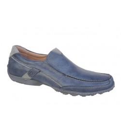 Ανδρικά Παπούτσια SOFTIES 6862 Μπλε τζιν Μοκασίνια