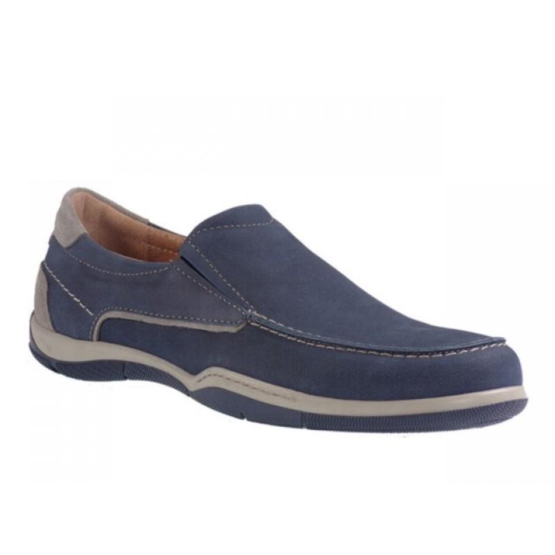 -21% Ανδρικά Παπούτσια SOFTIES 6903 Μπλε Δερμάτινα Μοκασίνια a6d362200dc