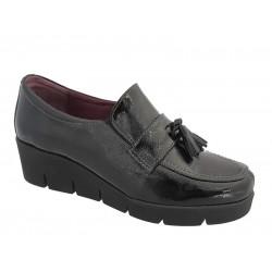 Γυναικεία Παπούτσια | SOFTIES 7103 Μαύρα Μοκασίνια - Loafers