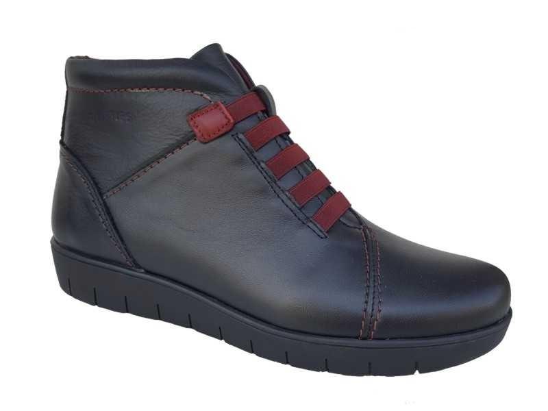 095d6f5abde -20% Γυναικεία Παπούτσια SOFTIES 7838 Μαύρα Σπορ Μποτάκια