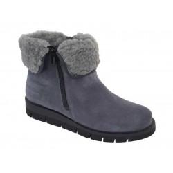 Γυναικεία Παπούτσια SOFTIES 7922 Γκρι Καστόρινα Μποτάκια