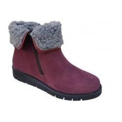 Γυναικεία Παπούτσια SOFTIES 7922 Μπορντό Καστόρινα Γυναικεία Μποτάκια