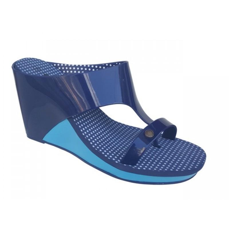 ab4bef661c4 Blondie 17072 Μπλε Σαγιονάρα Πλατφόρμα - Γυναικεία Παπούτσια