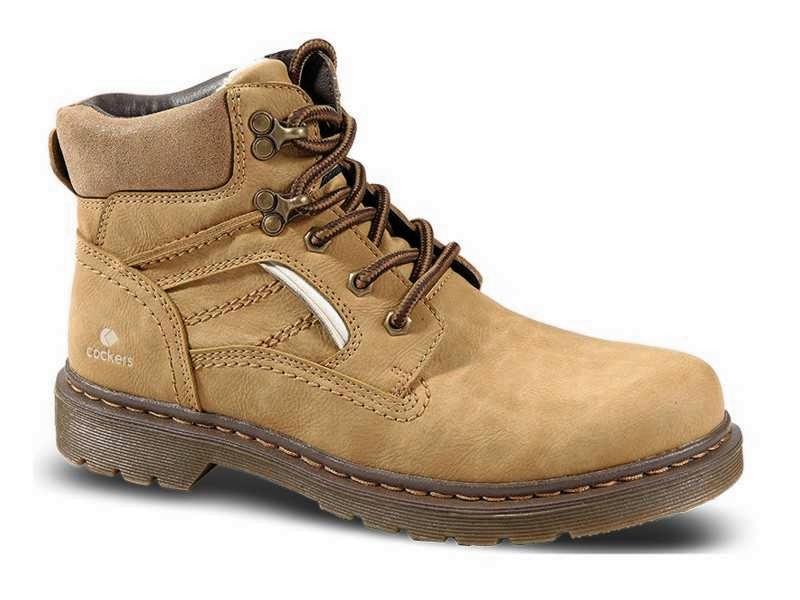 Παπούτσια Zak Cockers 74063 Κίτρινα Ανδρικά Μποτάκια