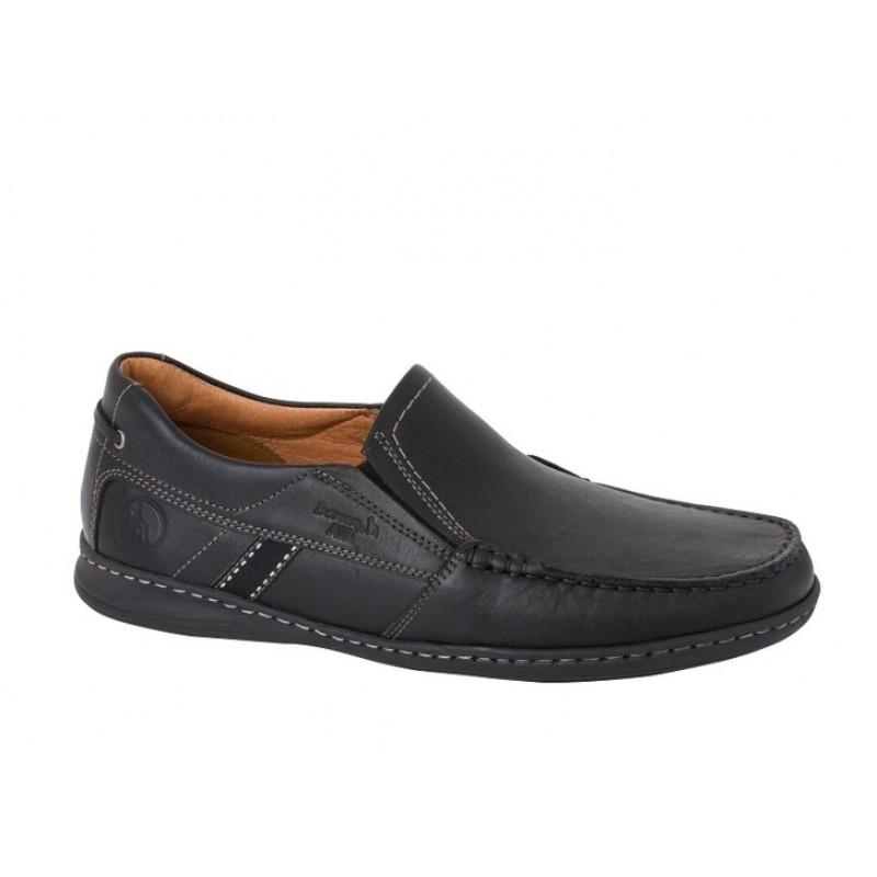 276423350a2 -30% Ανδρικά Παπούτσια Boxer 21094 12-011 Μαύρα Μοκασίνια