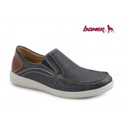 Boxer 21113 12-016 Μπλε Δέρμα