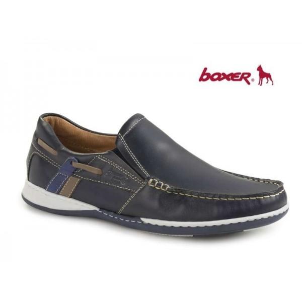 Boxer 21120 12-016 Μπλε Δέρμα