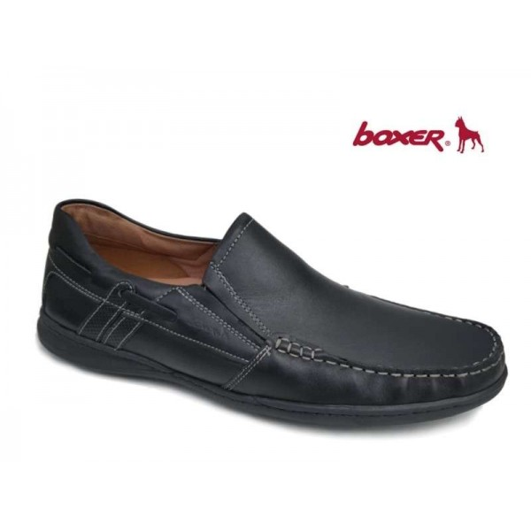 Boxer 21120 14-111 Μαύρο Δέρμα