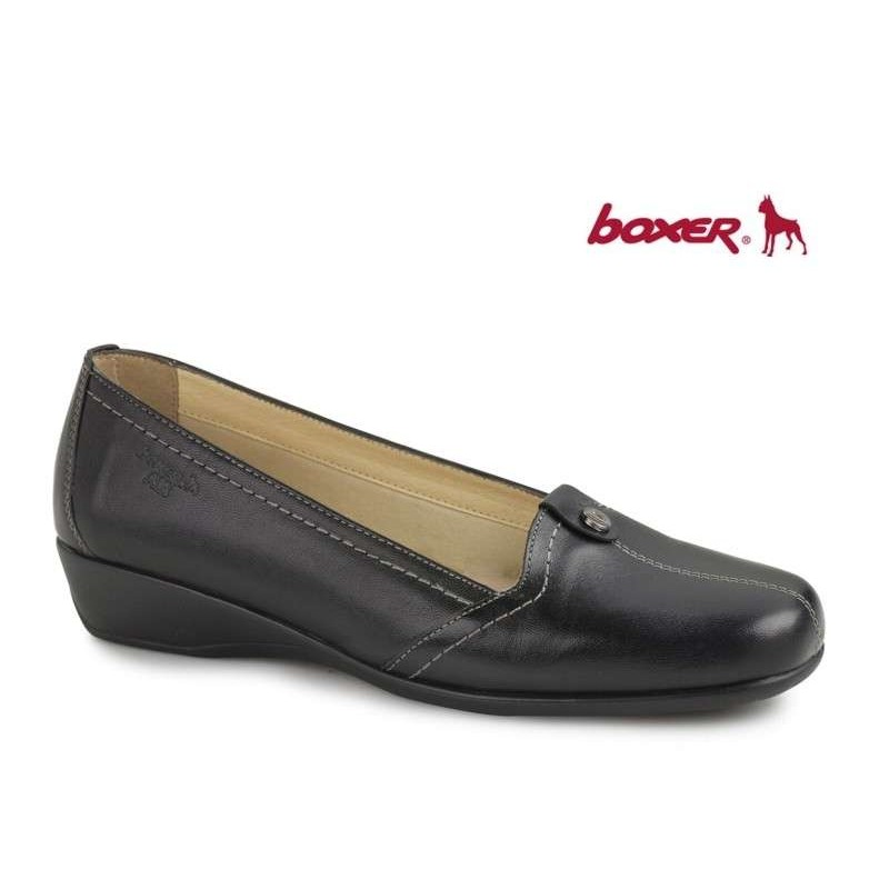 1830a06147 -30% Γυναικεία Παπούτσια Boxer shoes 52716 17-011 Δερμάτινα Μοκασίνια