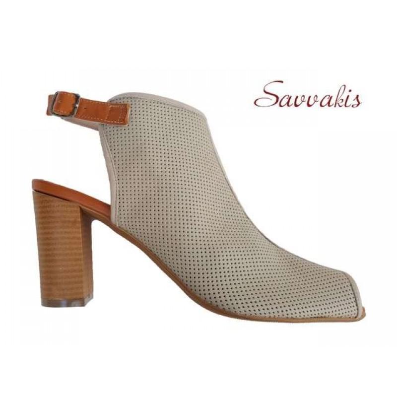 7153fa3d047 Δερμάτινα παπούτσια SAV 7007 Μπεζ Γυναικεία Πέδιλα Δερμάτινα παπούτσια SAV  7007 Μπεζ Γυναικεία Πέδιλα